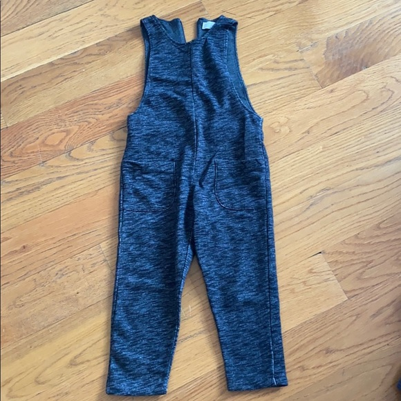 Cozy stretch sleeveless jumpsuit